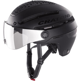 Cratoni Commuter Pedelec Helm black matte
